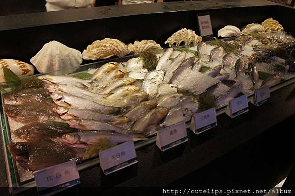 鮮魚料理區