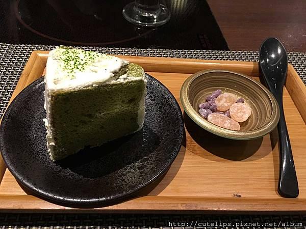 甜點-日式抹茶戚風蛋糕105/1/9