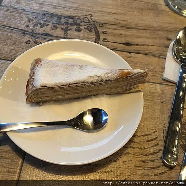 甜點-千層蛋糕