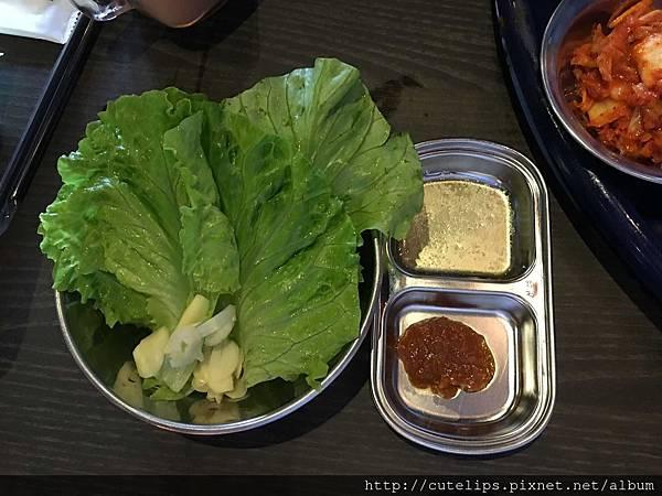 生菜&醬料