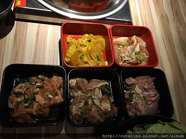 基本肉盤(不含牛肉)