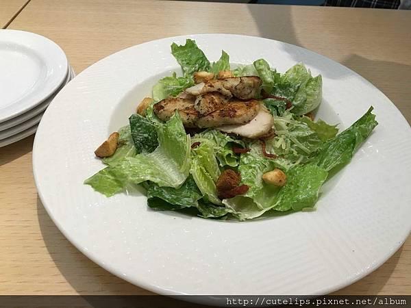雙人套餐-香草雞肉凱薩沙拉