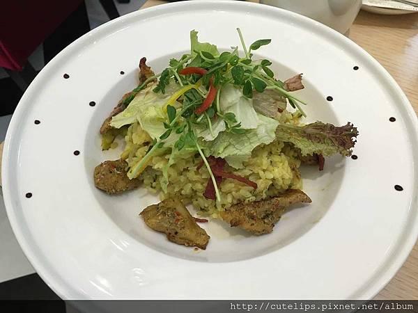 雙人套餐-奶油蘆筍香草豬燉飯