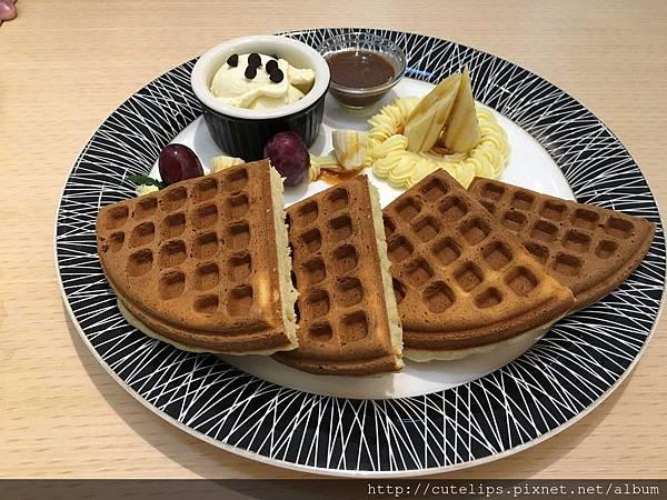 雙人套餐-香蕉共和國風味鬆餅