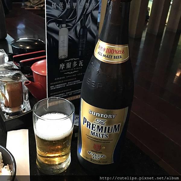 SUNTORY頂級生啤酒105/3/13