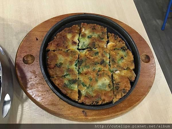 海鮮厚煎餅