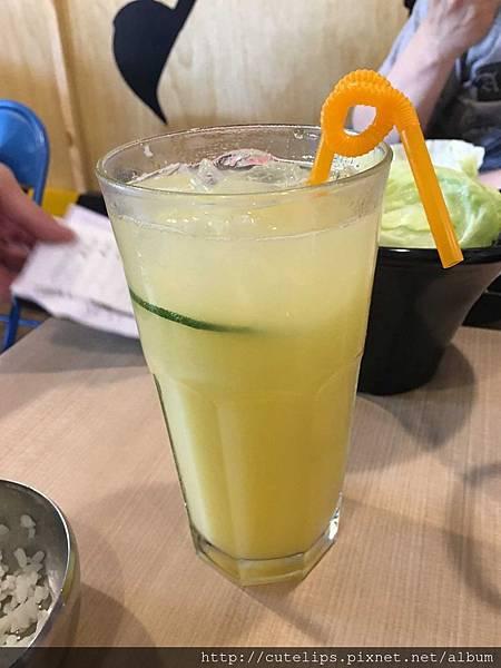 柳橙百香可爾必思