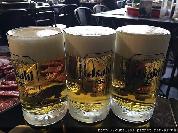 Asahi生啤酒(買二送一)105/5/1