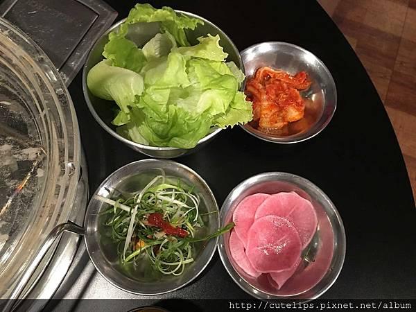 包肉生菜&韓式泡菜
