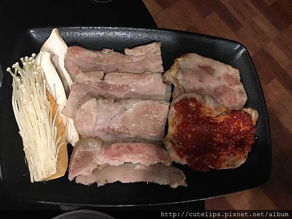 五花豬肉、梅花豬肉&辣醬五花豬肉
