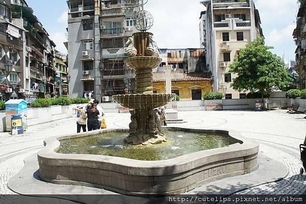 大堂前地廣場-噴水池