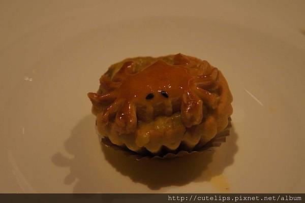 葡香焗蟹撻