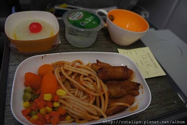回程-機上兒童餐