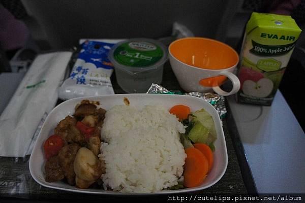 回程-機上成人餐