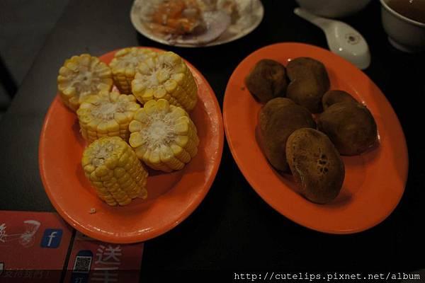 玉米&香菇