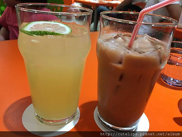 酸柑汁&泰奶奶