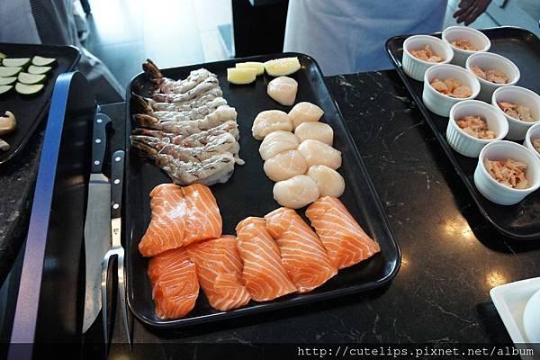 鐵板燒食材