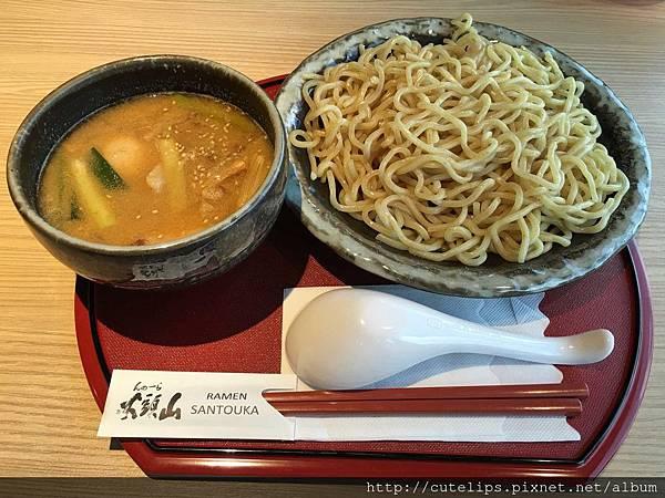 醬油沾麵(粗麵)