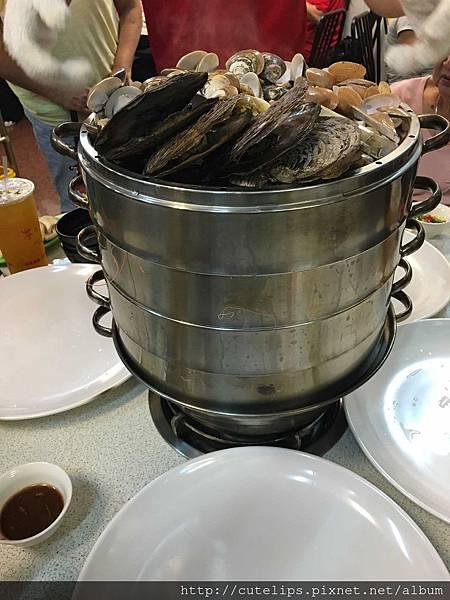 四層海鮮鍋