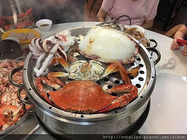 海鮮鍋第三層