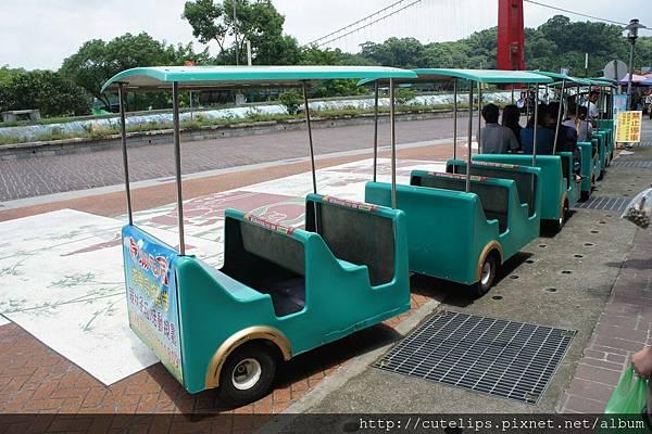 竹崎親水公園-遊園車