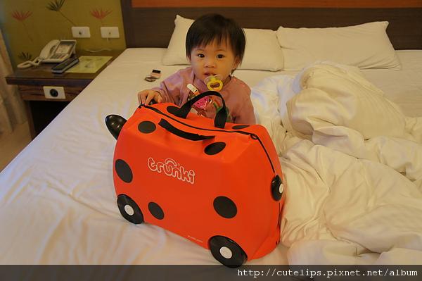 小希與她的行李箱