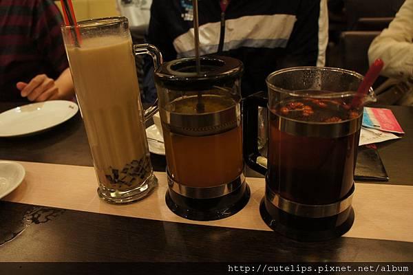 沖繩黑糖寒天奶茶、熱桔茶&桂圓紅棗茶