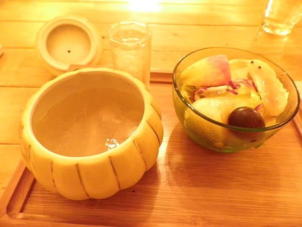 沙拉、湯&蘋果醋飲