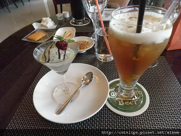 甜點+柚蜜紅茶
