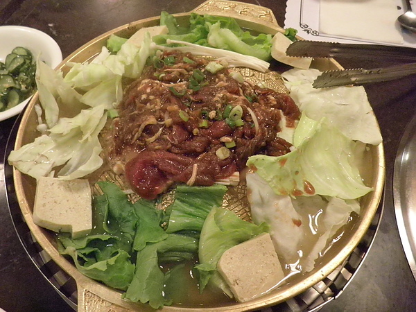 銅盤烤肉-牛肉