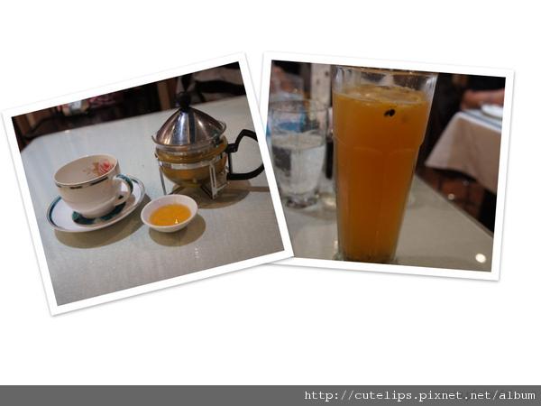 金桔檸檬茶&冰百香烏龍綠茶