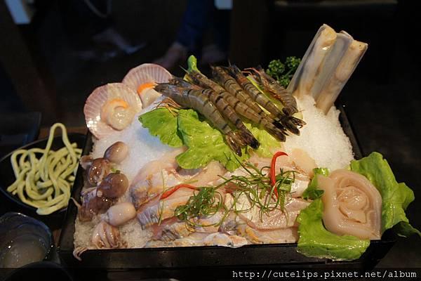 季節海鮮拼盤
