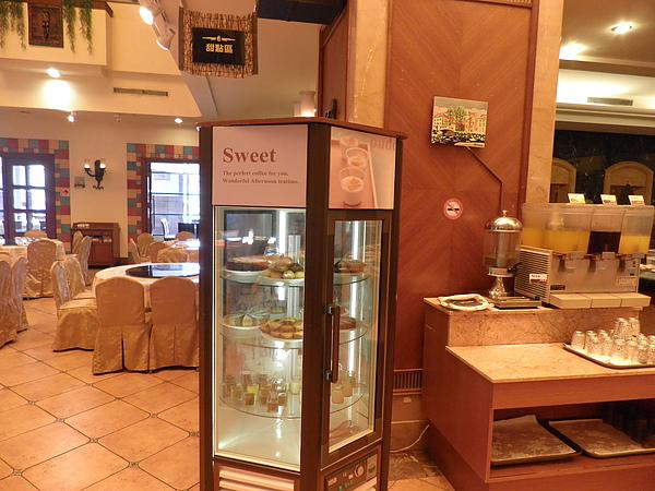 甜點蛋糕櫃