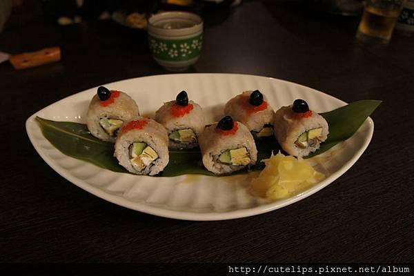 芋香鰻魚卷壽司