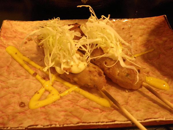 烤雞肉捲(2串)
