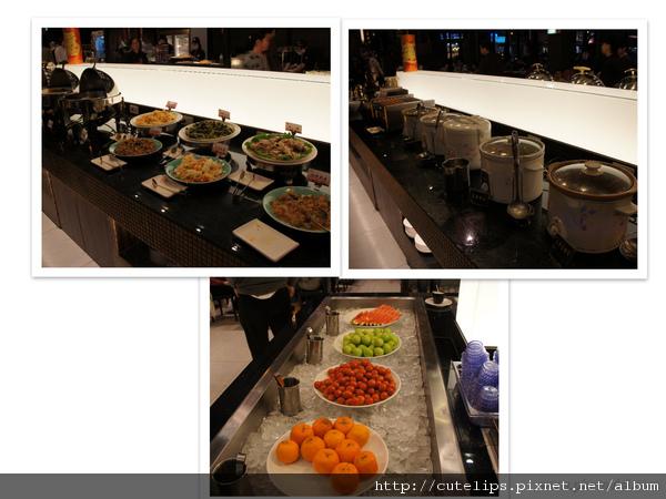 熱食&水果區