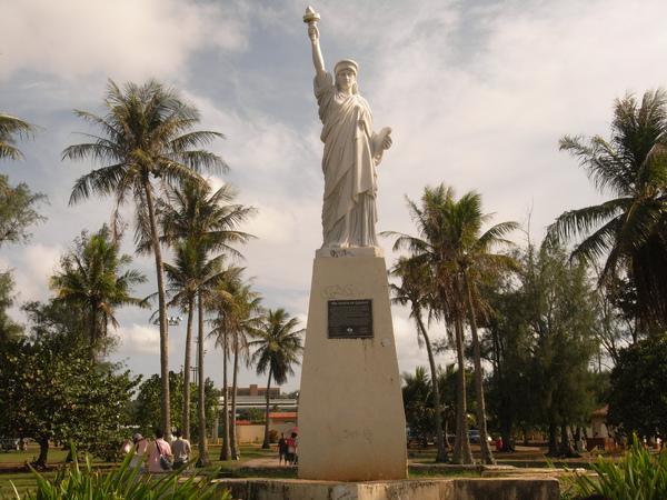 關島的迷你自由女神