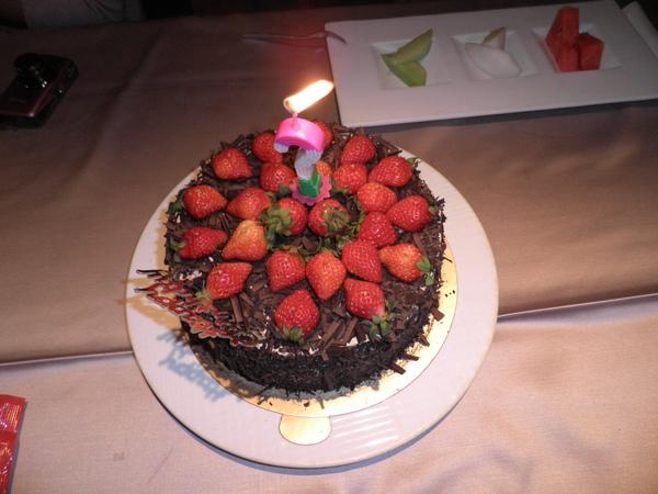 克林姆之屋的草莓黑森林蛋糕
