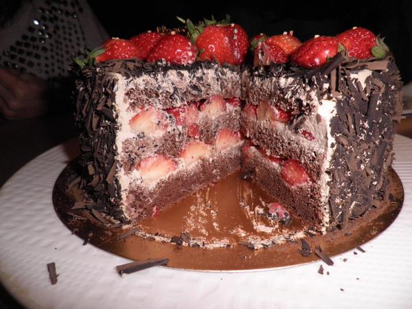 剖面照-滿滿的草莓