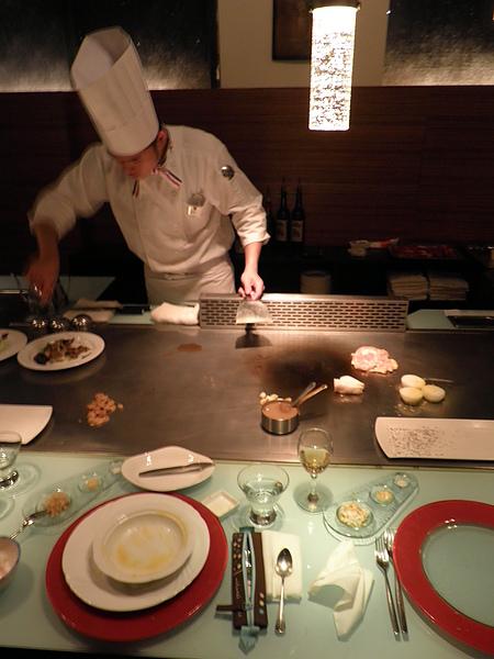 廚師忙碌的身影