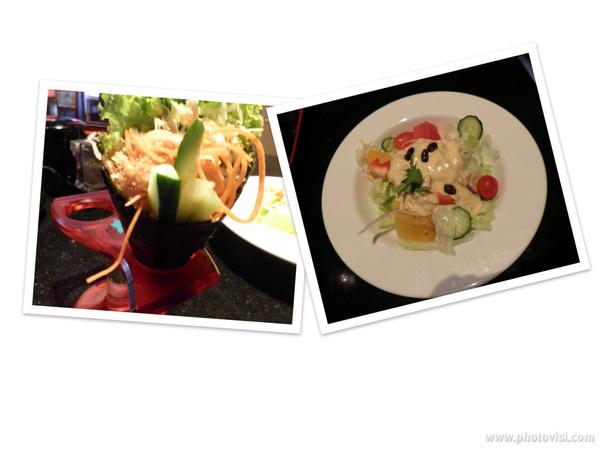 蔬菜手卷&沙拉