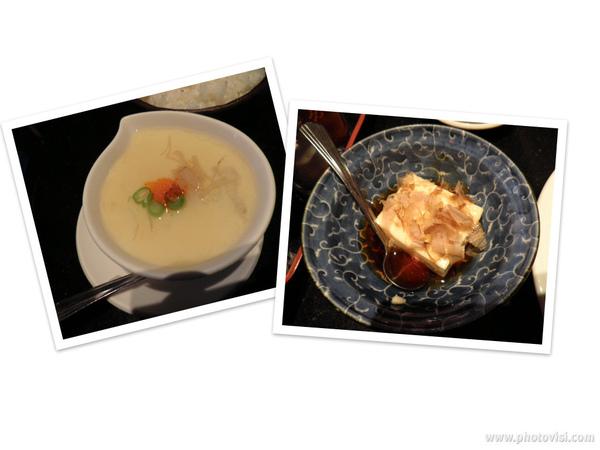 山藥釜蛋&冷豆腐