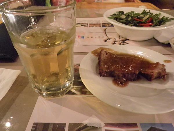 生啤酒&烤牛肉