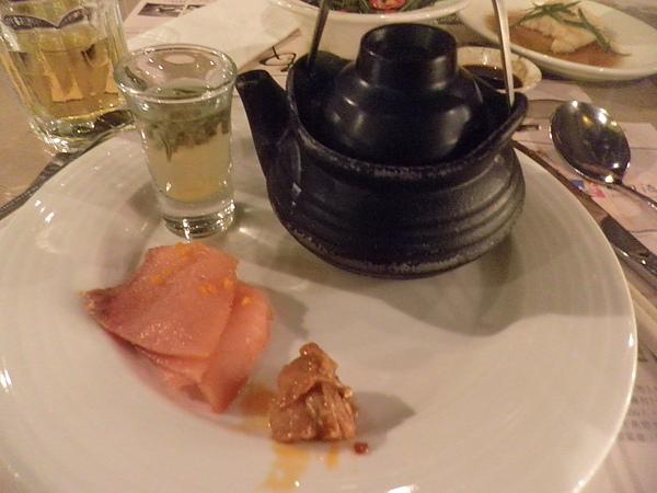 茶碗蒸&煙燻鮭魚