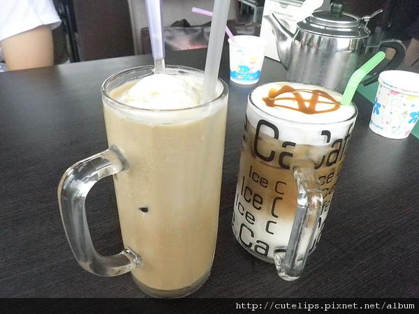 飄浮冰咖啡&焦糖拿鐵