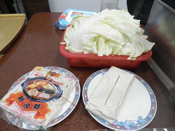 白菜&豆腐&烏龍麵