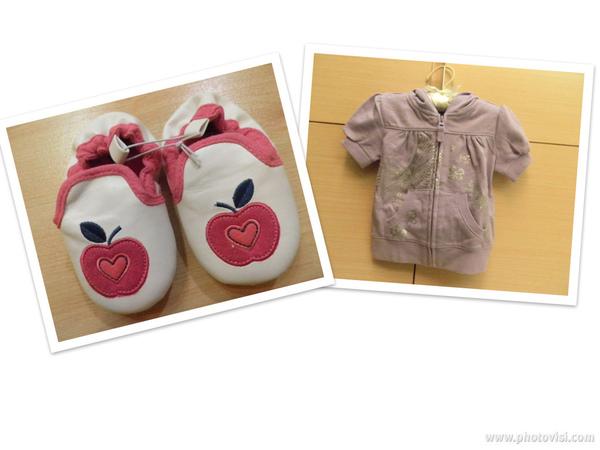 外婆送的衣服&鞋子