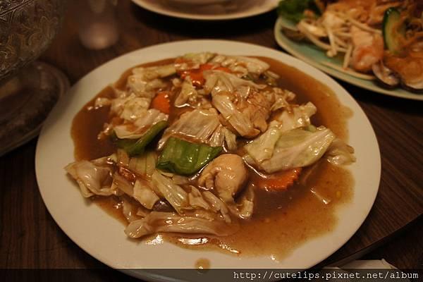 雲醬炒高麗菜