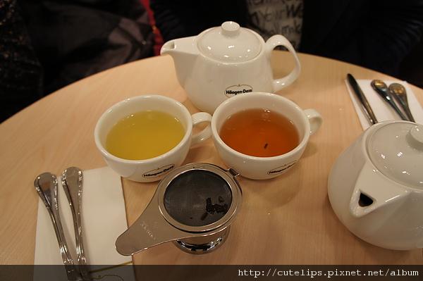 森林綠茶&大吉嶺紅茶