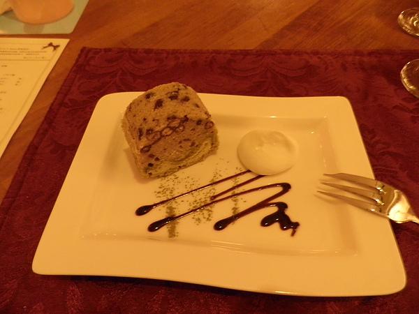 甜點~紅豆抹茶蛋糕